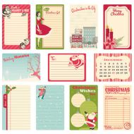 Набор вырубок для журналинга, коллекция Holiday Style