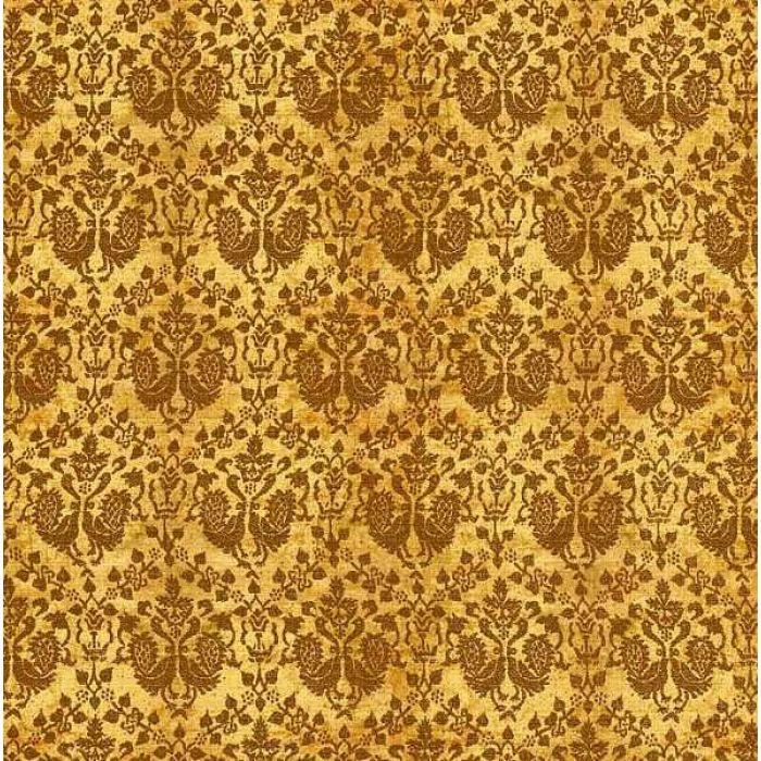 Бумага золотая парча для скрапбукинга