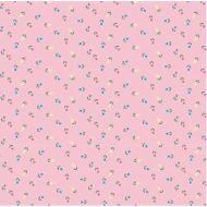 """Бумага  """"Сказочные цветочки"""" на розовом"""