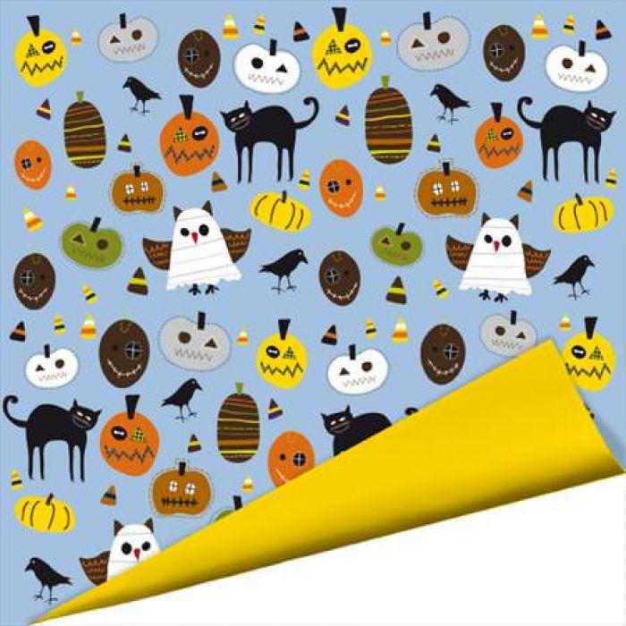 Бумага, коллекция Spooky Town, Boo Whooo?!  для скрапбукинга