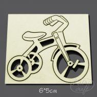Чипборд Велосипед трехколесный право мал.