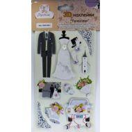 Наклейки свадебное торжество