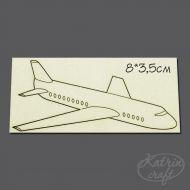 Чипборд Самолет маленький