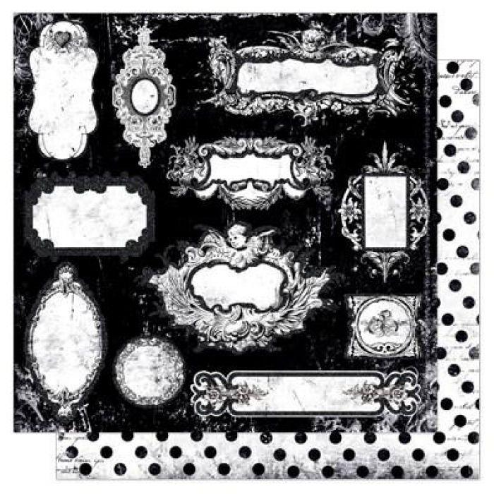 Бумага Fairytales, коллекция Enchanted для скрапбукинга