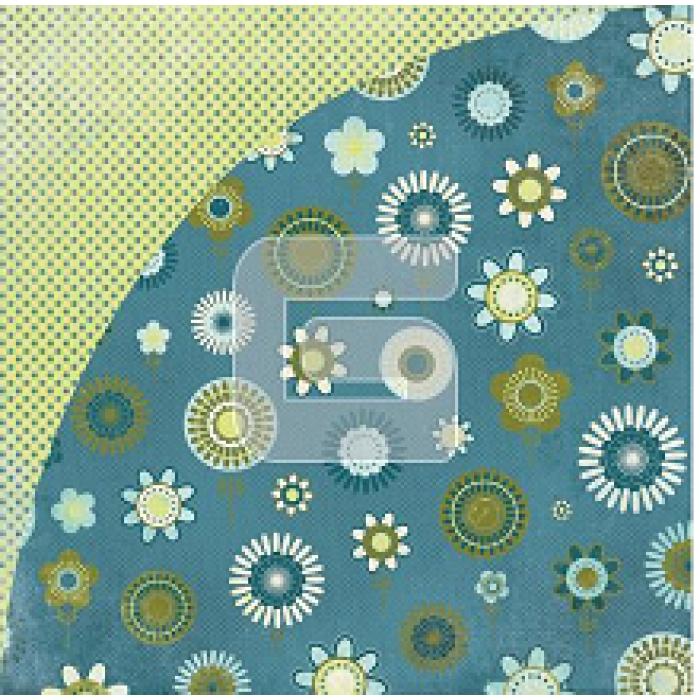 Бумага, коллекция  Hazelnut Daquiose, Fudge Truffle для скрапбукинга