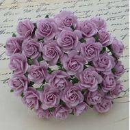 Розы лиловые 15 мм