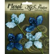Набор цветов Голубые с ягодами