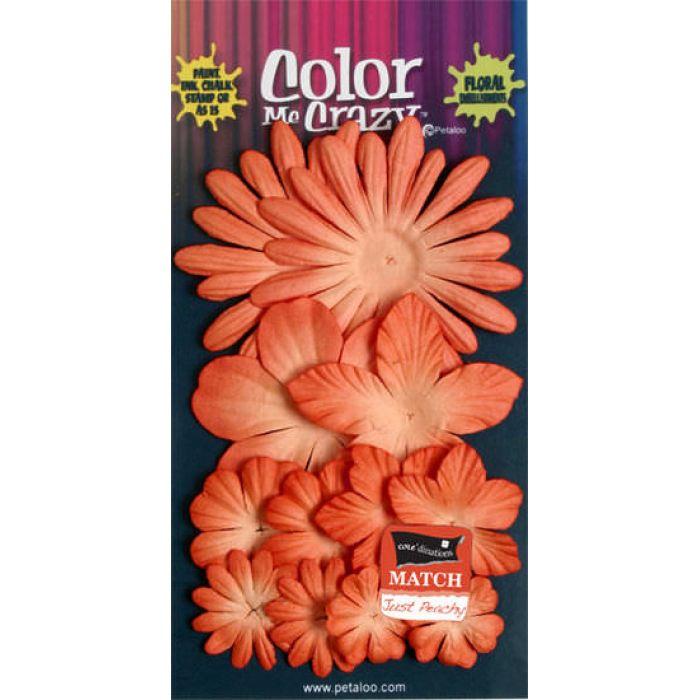 Набор цветов  Paprika для скрапбукинга