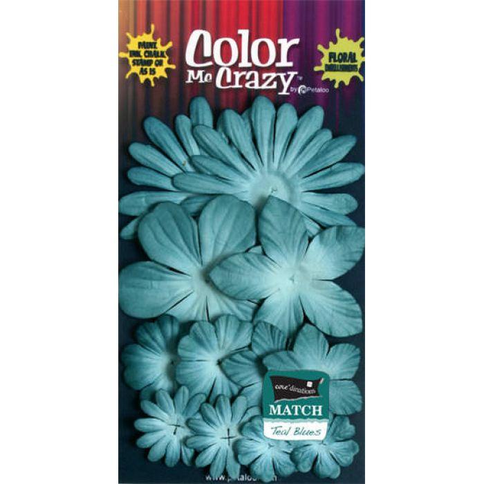 Набор цветов  Marsh Blue для скрапбукинга
