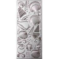 Контурные стикеры РАКУШКИ серебряные SCB 1502891