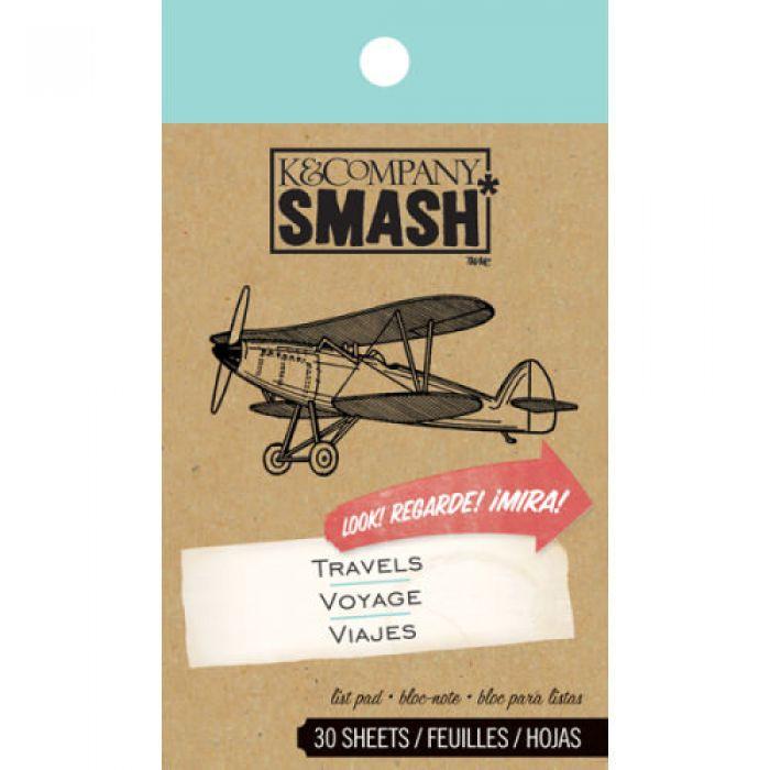 Блокнот Smash: Путешествие для скрапбукинга
