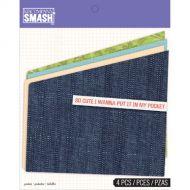 Набор кармашков для папок: Smash