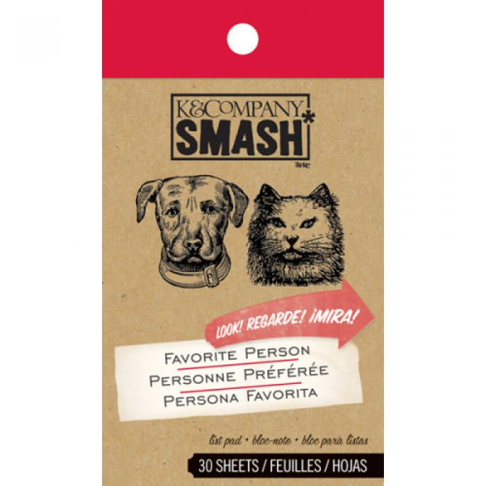 Блокнот Smash: Кот и пес, двое из Штатов для скрапбукинга