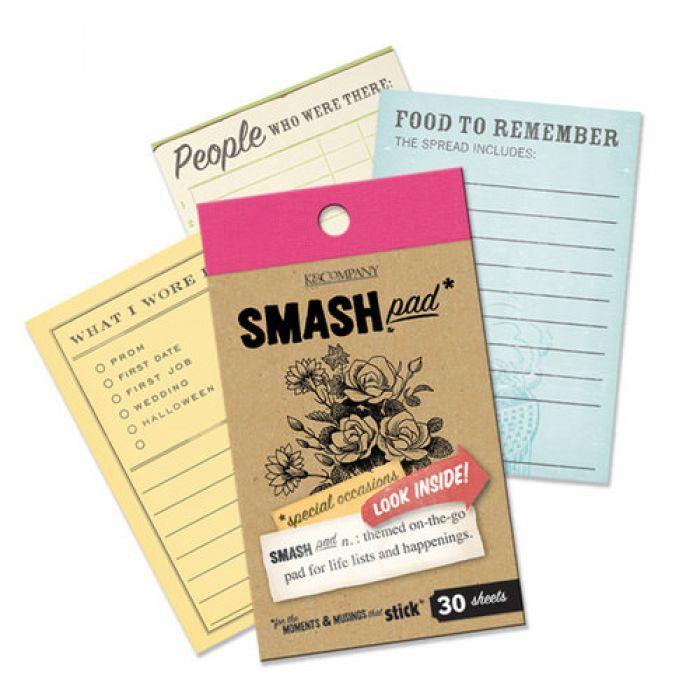 Блокнот Smash: Особые случаи для скрапбукинга
