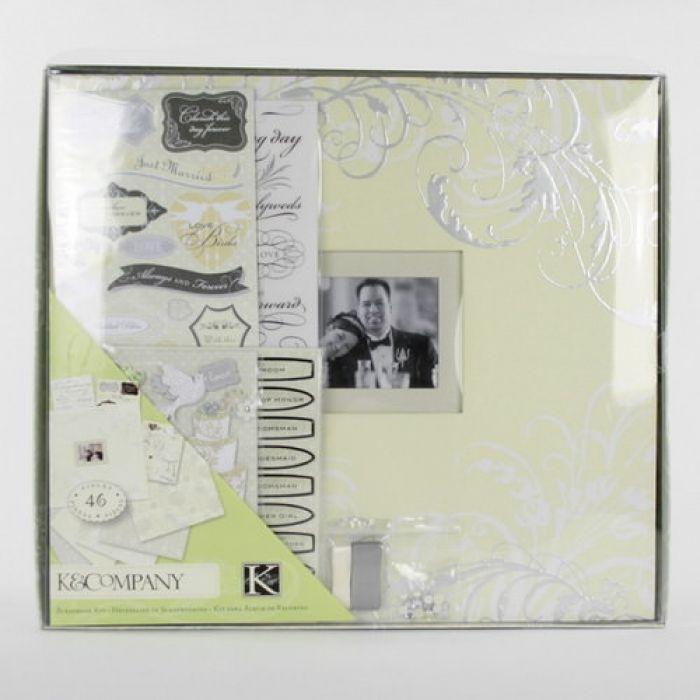 Набор для создания альбома Свадебный 31х31см для скрапбукинга