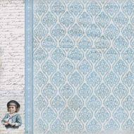 Бумага Мальчик, коллекция Малыш и малышка