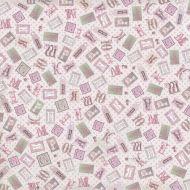 Бумага Букварь для девочки, коллекция Малыш и малышка