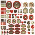 Бумага Декор, коллекция На крыльях любви