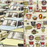 Бумага Автопром, коллекция Привет из шестидесятых