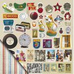 Бумага Декор, коллекция Привет из шестидесятых