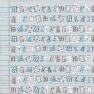 Бумага Букварь для мальчика, коллекция Малыш и малышка