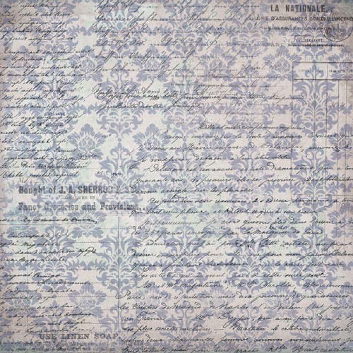 Бумага Любовные письма, коллекция Романс для скрапбукинга