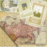 Бумага Карта, коллекция Привет из шестидесятых