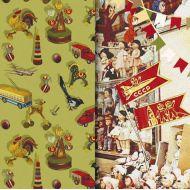 Бумага Игрушки, коллекция Привет из шестидесятых