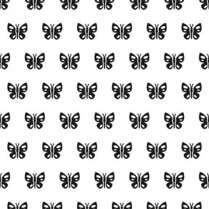 """Папка для тиснения фоновая """"Бабочки"""" для скрапбукинга"""