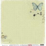 Бумага Заметки на полях, коллекция Ветер странствий