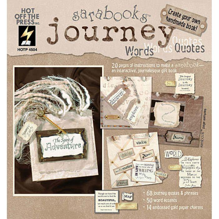 """Книга слов и выражений """"Путешествие"""" для скрапбукинга"""