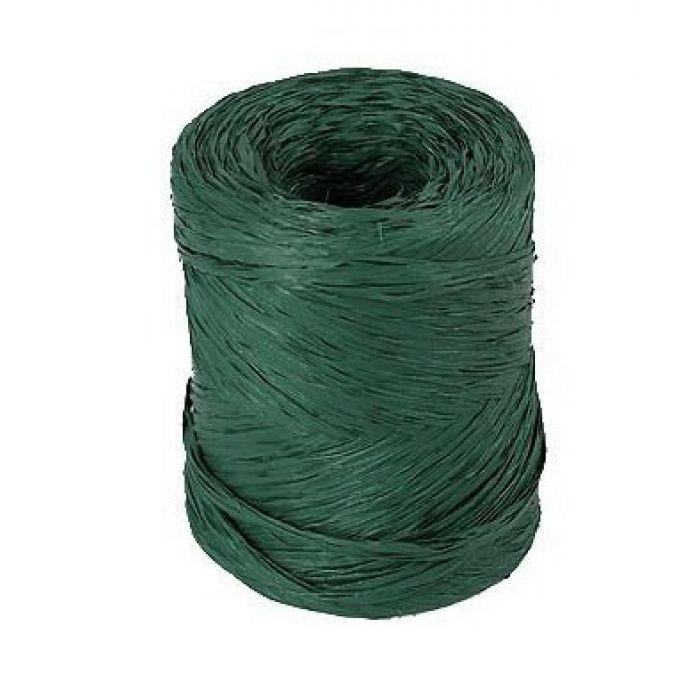 Рафия синтетическая зеленая для скрапбукинга