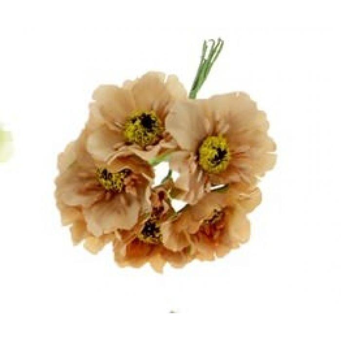 Цветы Бегония кофейная для скрапбукинга