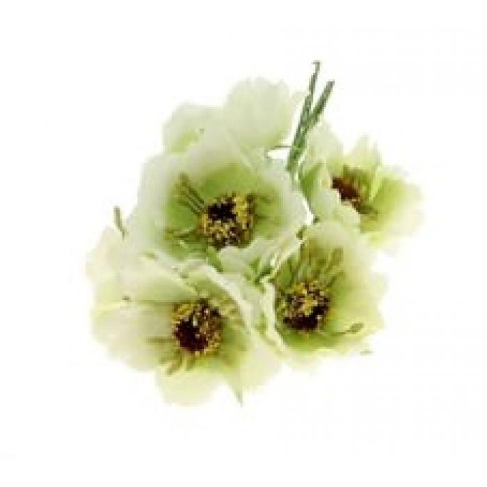 Цветы Бегония светло-зеленая для скрапбукинга