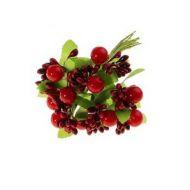 Цветы Ягодный букет красный