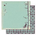 Бумага Sledding, коллекция Snow Day
