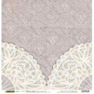Бумага Ажурные салфетки, коллекция Свадебное кружево