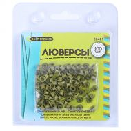 Зелёные люверсы (100 штук)