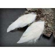 Ангельские крылья 5х9,4 см СЕРЫЕ