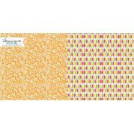 Бумага Creamsicles, коллекция Sweet Notes