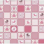 Бумага Розовое одеяло, коллекция Малыш и малышка