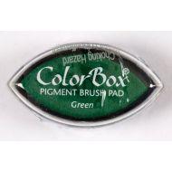 """Штемпельная подушка """"Кошачий глаз"""", зеленый"""