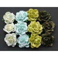 Розы, зеленая смесь, 40 мм