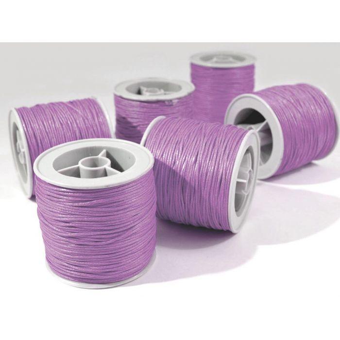 Фиолетовый вощёный шнур для скрапбукинга