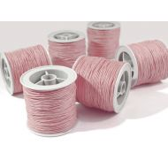Розовый вощёный шнур