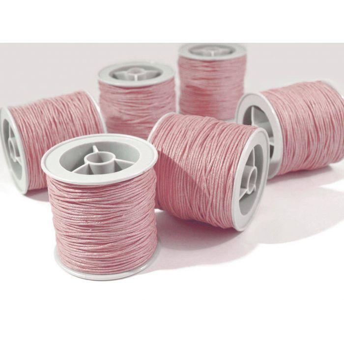 Розовый вощёный шнур для скрапбукинга