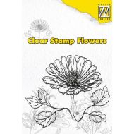 Штамп цветы маргаритка