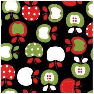 Отрез ткани Яблочки