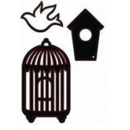 Форма для вырубки Набор Птичка