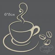 Чипборд Чашка кофе